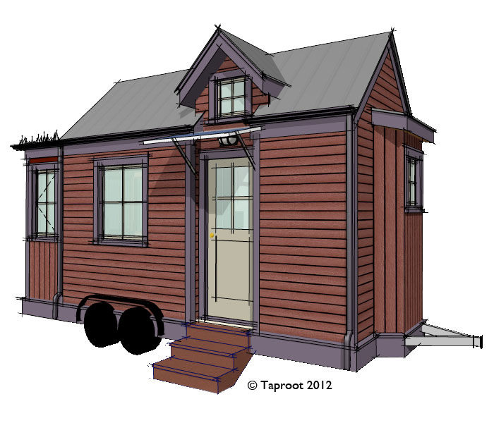 Kingfisher Jade Tiny House Model